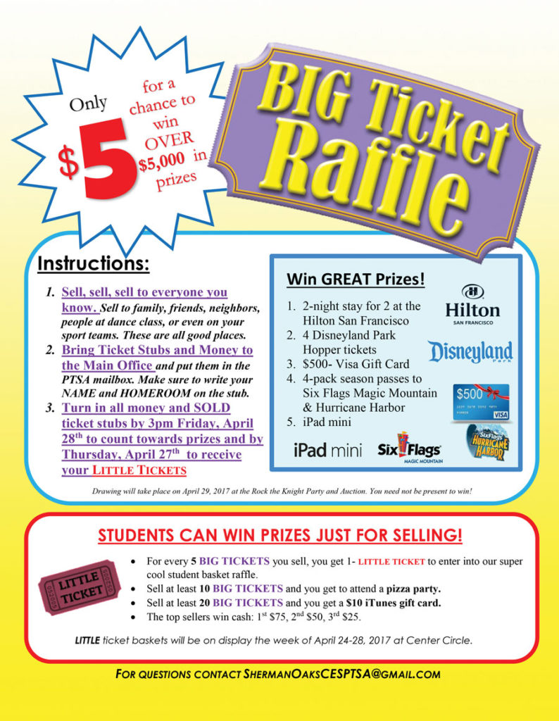 big ticket raffle flyers team soces